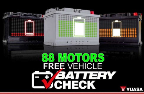 FREE 88 Motors Battery Check